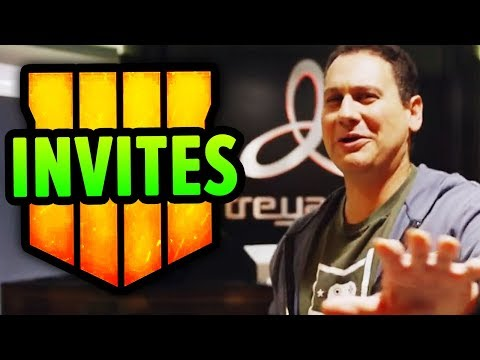 BO4 COMMUNITY REVEAL INVITES GIVEAWAY!! FREE TREYARCH FLIGHTS & TICKETS TO PLAY BLACK OPS 4 (REALLY)