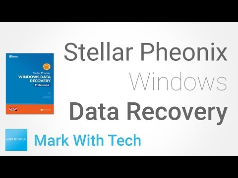Stellar Pheonix Windows Data Recovery - How to Recover Deleted Files
