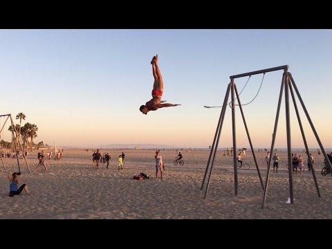 Fun People at Original Muscle Beach (OMB) ~ Santa Monica ~ Part 2