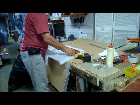 How to Assemble Base Cabinets with a door and a drawer with side mount glides