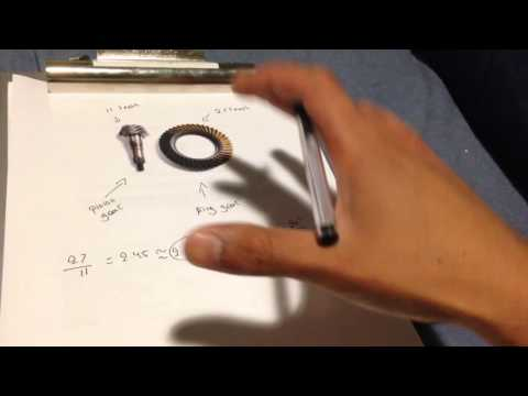 How to calculate your gear ratio for bigger tires!