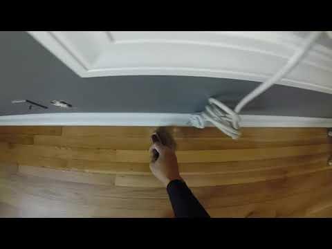 Applying polyurethane with a brush
