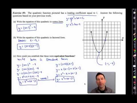 Common Core Algebra Iunit 7lesson 1roduction To Polynomials