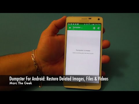 Dumpster for Android: Recover Deleted Images, Files & Videos