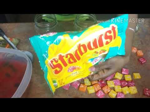 DIY Rummy Bears & Starburst Rum