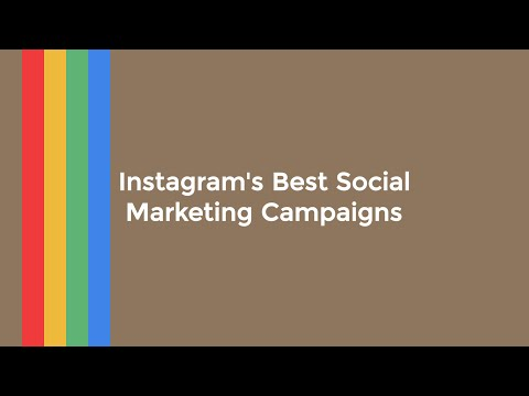 Instagram's Most Creative Marketing Campaigns of 2015: Social Media Minute