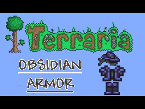Terraria Armor Guide and Test: Obsidian Armor