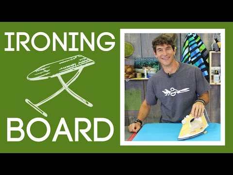 How to Make an Ironing Board: Easy Sewing tutorial with Rob Appell of Man Sewing