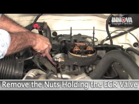 How to change Exhaust Gas Recirculation (EGR) Valve - 1995 Chevy Suburban
