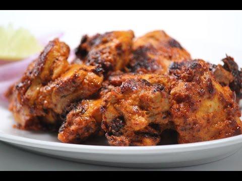 Pan fried Chicken Tikka   Sanjeev Kapoor Khazana