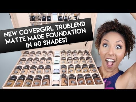 NEW CoverGirl TruBlend Matte Made Foundation Review! Foundation Friday! | BiancaReneeToday