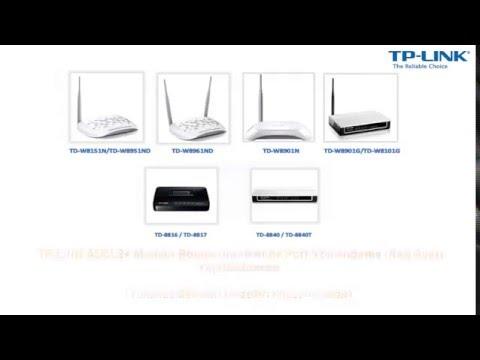 TP-LINK ADSL2+ Modem Router Ürünlerinde Port Yönlendirme (NAT) Ayarı