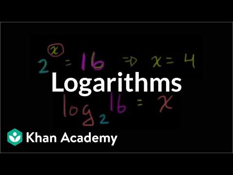 Logarithms   Logarithms   Algebra II   Khan Academy