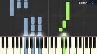 Marc Lavoine - Elle a les yeux revolver (piano facile)