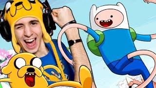 FINN vs FAVIJ! - Salta Finn (Adventure Time)