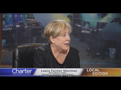 Charter-Cox Local Edition with Susan G. Komen San Diego CEO Laura Farmer Sherman