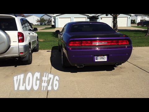 68 + Sunny = Perfect Day in the Midwest! Dodge Challenger SRT8 (Vlog #76)