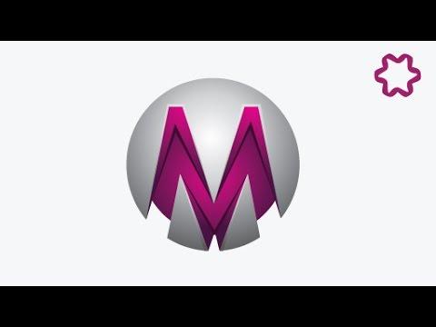 Professional Circle Letter Logo Design Tutorial in adobe illustrator / 3D Logo Design illustrator
