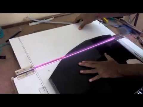 Acrylic Sheet Bending Machine