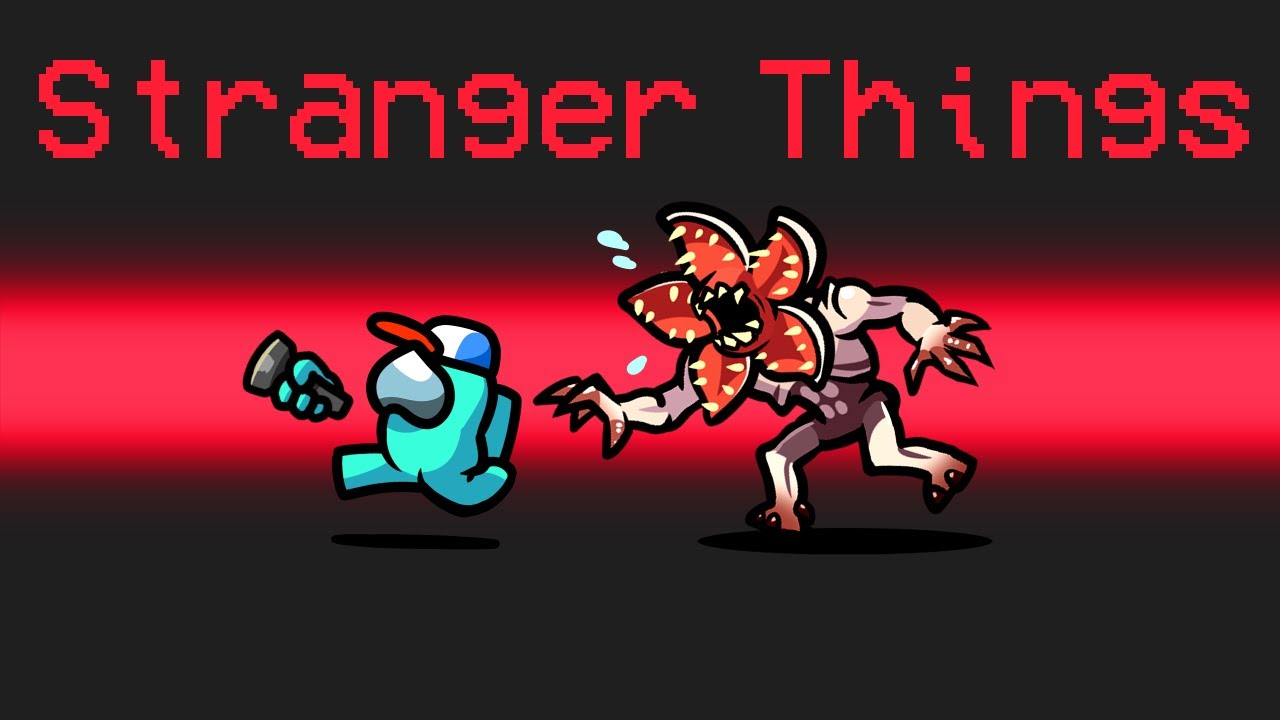 STRANGER THINGS Mod in Among Us