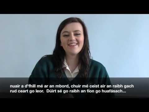 Leaving Cert Oral Irish (Molly)