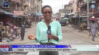 Lockdown Order: Lagosians adjust to restriction order | TV360 Nigeria