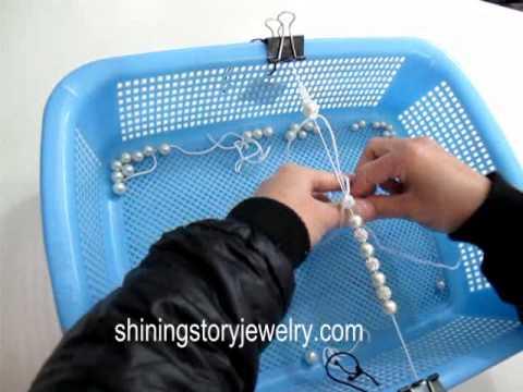 how to make pearl beads shamballa shambala macrame bracelets step to step guide
