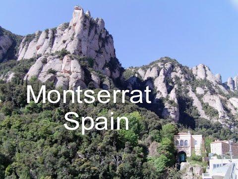 Montserrat monastery, Spain, cable car to Abbey,  Basilica Mass