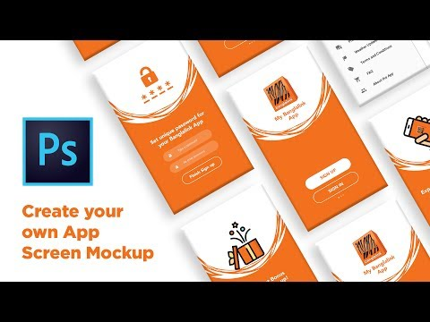 Create your own mockup for App presentation! VERY EASY
