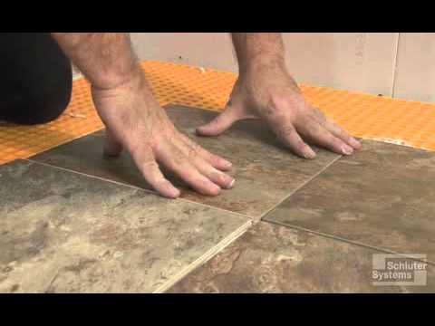 Tile Installation Over DITRA Summary
