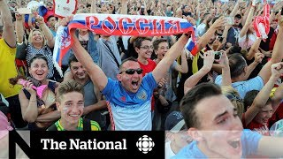 World Cup fans look past Russia
