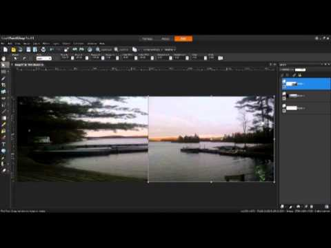 Creating a Panorama in Corel PaintShop Pro X4