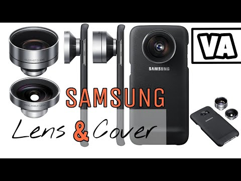 Unboxing Samsung Lens-Cover with Samples