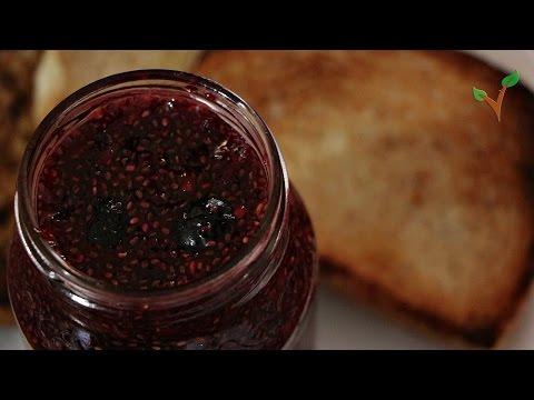 Easy Berry Chia seed jam!