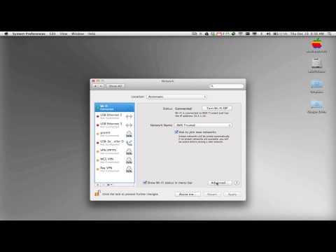 Renew DHCP Mac OS X Lion