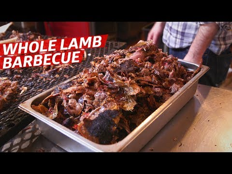 Testing North Carolina Barbecue Techniques on a Whole Lamb — Prime Time
