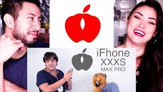 DOUBLE APPLE IFHONE | iPhone Parody | Ashish Chanchlani | Reaction by Jaby Koay & Alazay (hey hey!)