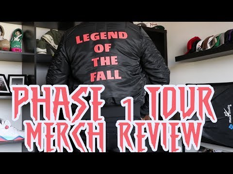 Phase 1 Tour Merch Review - Legend of the Fall The Weeknd XO (Bomber)