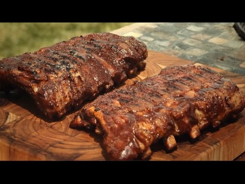 How to Make Grilled Baby Back Ribs