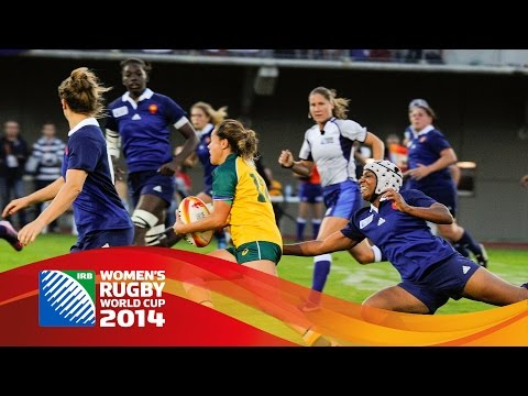 [HIGHLIGHTS] Australia 3-17 France at Women's Rugby World Cup