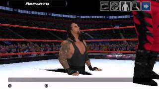 Smackdown! Vs. RAW 2011 Undertaker Attacks Masked Kane