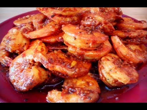 EASY Sweet & Spicy Cajun Shrimp Recipe | Kiwanna's Kitchen