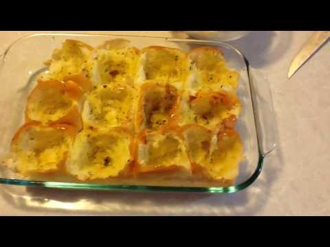Meatball Stuffed Cheesy Garlic Bread