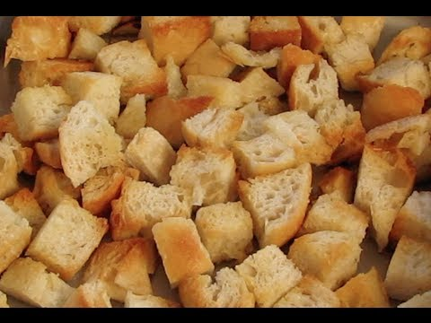 How to Make Breadcrumbs and Croutons at Home