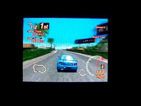 Gran Turismo 2 Gameplay #1 (PSX on PSP)