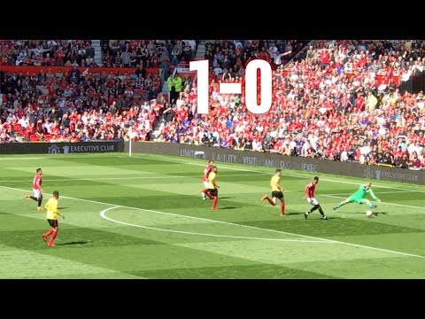 Manchester United v Watford, 1-0, Premier League, 13.05.18