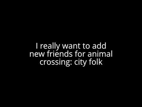 Animal Crossing:City Folk *Friend code*