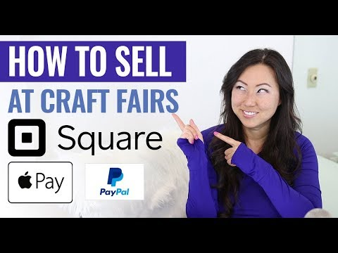 How To Sell at Craft Fairs - How To Accept Payments In Person