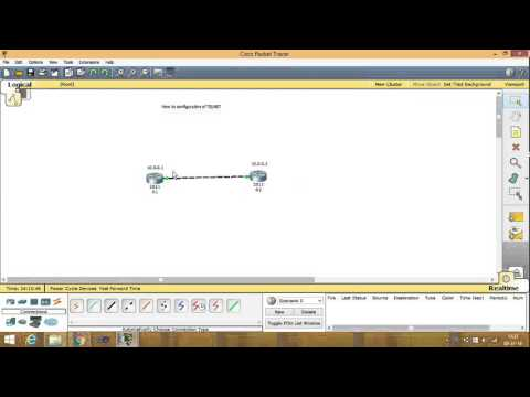 telnet protocol configuration