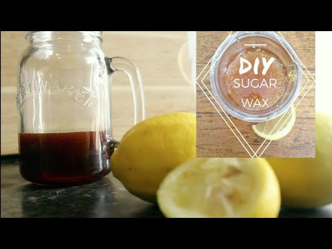 Remove unwanted body hair using sugar (nontoxic)